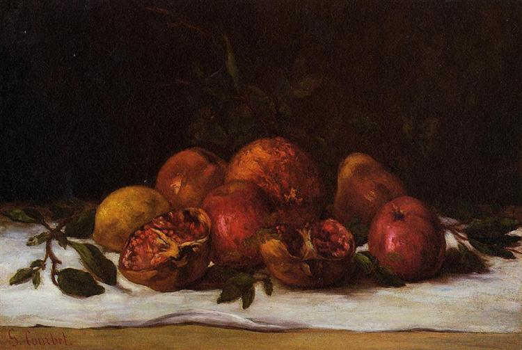 Still Life, c.1871 - c.1872 - Gustave Courbet