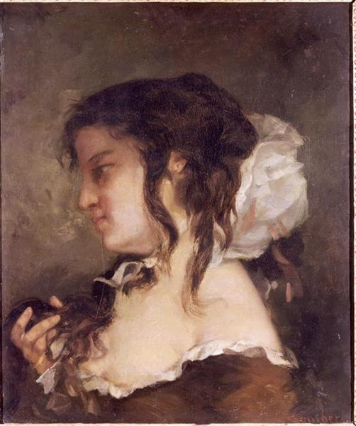 The Reflection, 1864 - Gustave Courbet