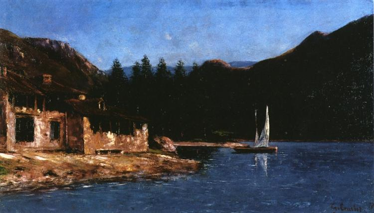 The White Sail, 1877 - Gustave Courbet