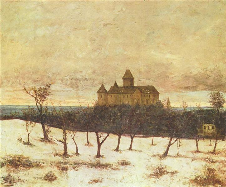 View of Neuenburger, c.1875 - Gustave Courbet