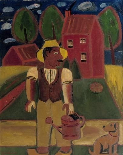 Le Jardinier, 1929 - Gustave De Smet
