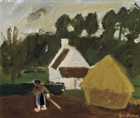 Mowing woman, 1941 - Gustave de Smet