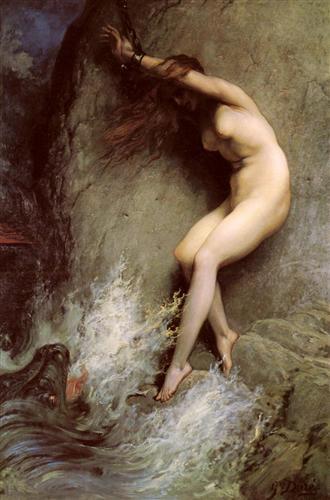 Andromeda - Gustave Dore