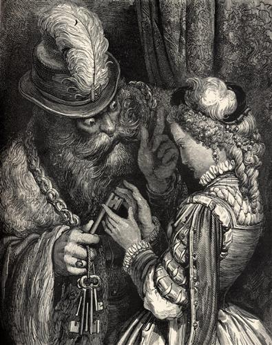 Bluebeard - Gustave Dore