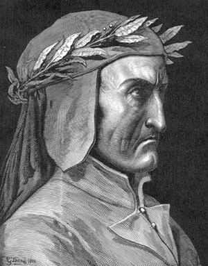Portrait of Dante Alighieri - Gustave Dore