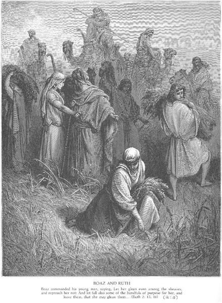 Ruth and Boaz - Gustave Dore