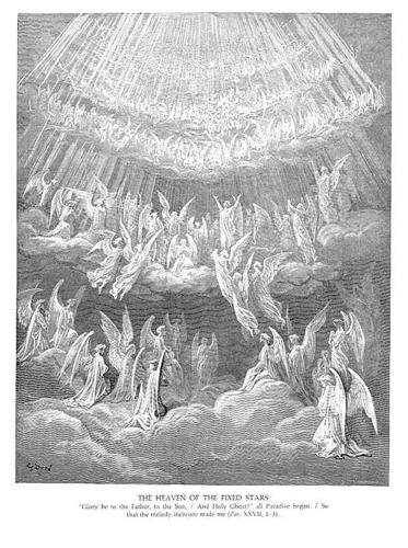 The Heaven of the Fixed Stars II - Gustave Dore