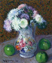 Vase of Flowers - Gustave Loiseau