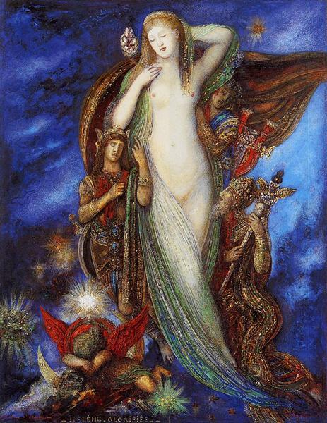 Helene glorifee, 1896 - 1897 - Gustave Moreau