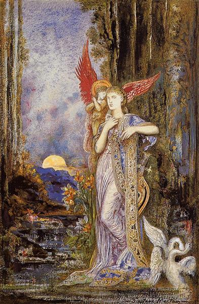 Inspiration, c.1893 - Gustave Moreau