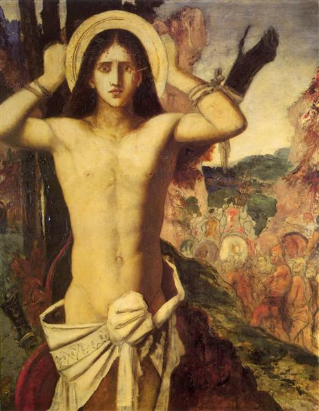 Saint Sebastian, 1870 - 1875 - Gustave Moreau
