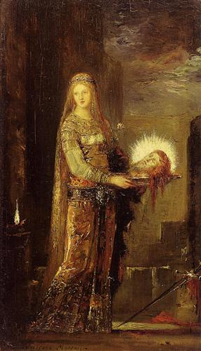 Salome Carrying the Head of John the Baptist on a Platter - Gustave Moreau