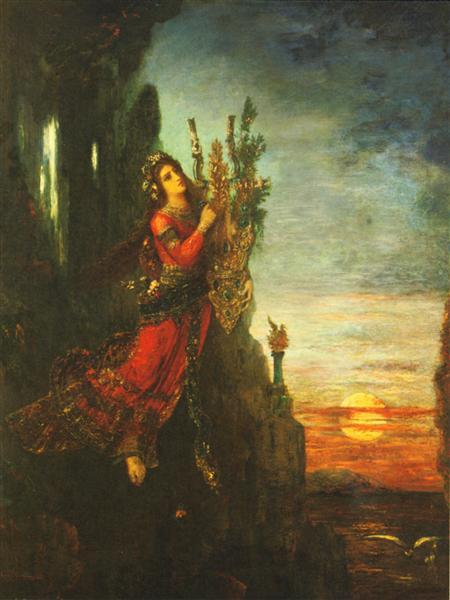 Sappho, 1893 - Gustave Moreau