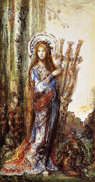Satyrs, 1892 - Gustave Moreau