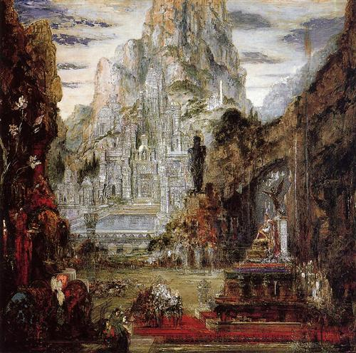 The Triumph of Alexander the Great - Gustave Moreau
