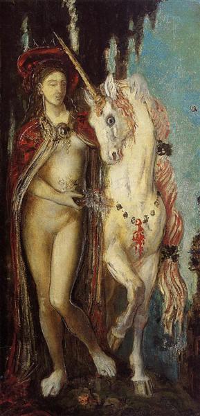 The Unicorn, c.1885 - Gustave Moreau