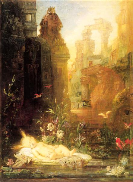 Young Moses - Gustave Moreau