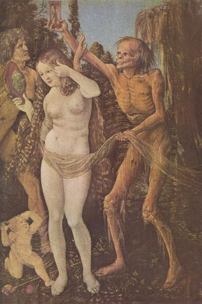 An Allegory of Death and Beauty, c.1509 - Hans Baldung