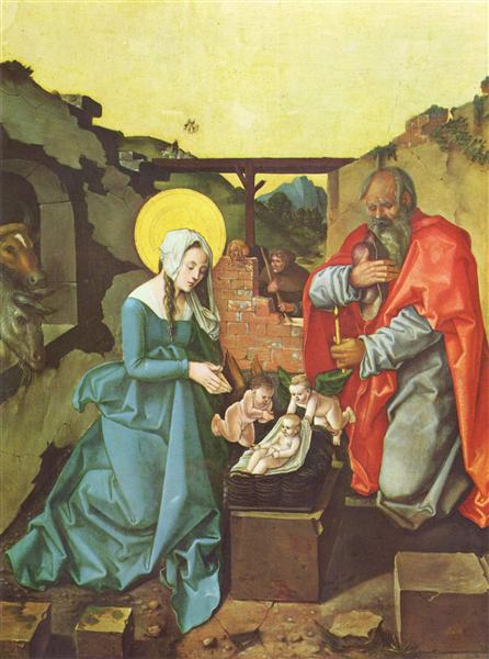 Nativity, 1510 - Hans Baldung