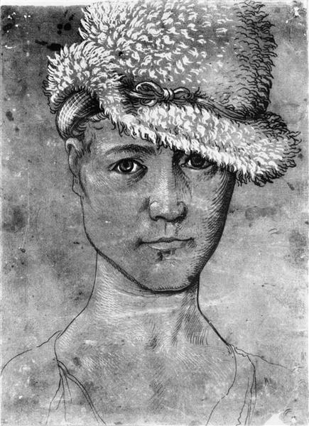 Self-Portrait, c.1502 - Hans Baldung