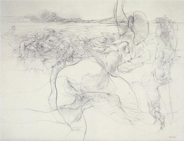Untitled, 1961 - Hans Bellmer