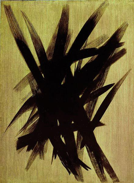 Untitled (T1955-23), 1955 - Hans Hartung