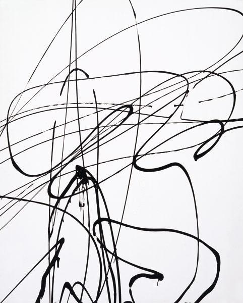 Untitled (T1989-A3), 1989 - Hans Hartung