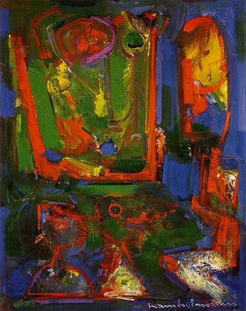 Asklepois, 1947 - Hans Hofmann