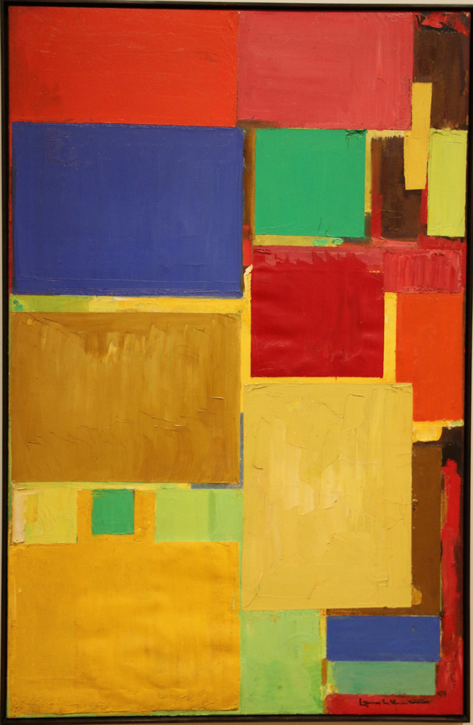 What Kind Of Oil >> Cathedral, 1959 - Hans Hofmann - WikiArt.org