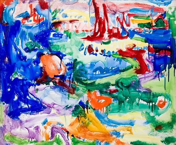 Landscape, 1935 - Hans Hofmann