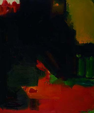 Nocturnal Splendor, 1963 - Hans Hofmann