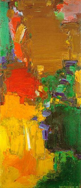Rhapsody, 1958 - Hans Hofmann