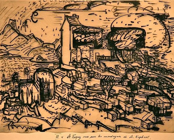 St Tropez, 1928 - Hans Hofmann