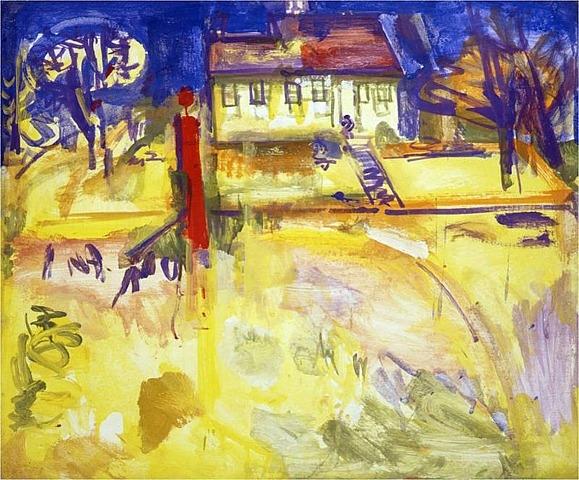 Suburban, 1936 - Hans Hofmann