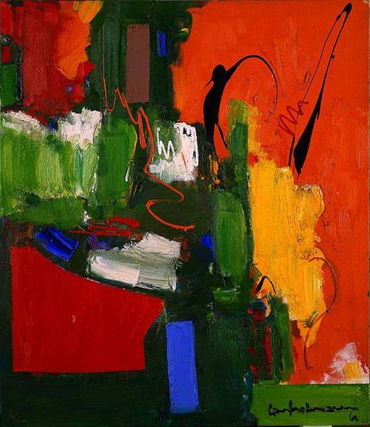 The Lark, 1960 - Hans Hofmann