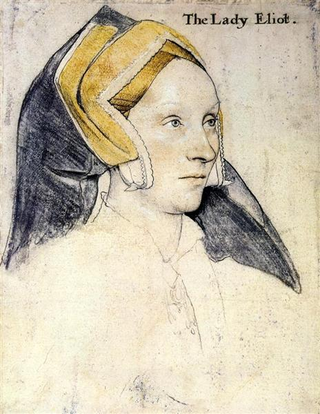 Lady Elyot, c.1533 - Hans Holbein the Younger