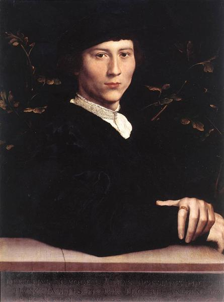 Portrait of Derich Born, 1533 - Hans Holbein the Younger