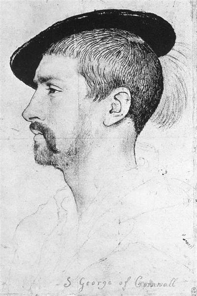 Simon George of Quocote, 1536 - Hans Holbein the Younger