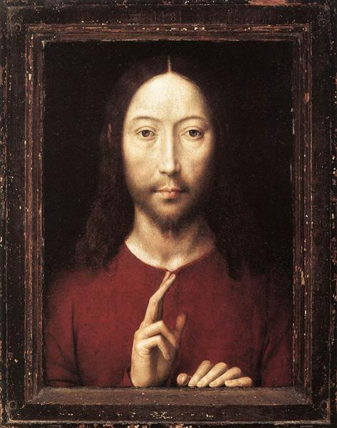 Christ Giving His Blessing, 1481 - Hans Memling