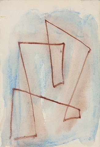 Sketch for Labyrinth - no. 301, 1970 - Hans Richter
