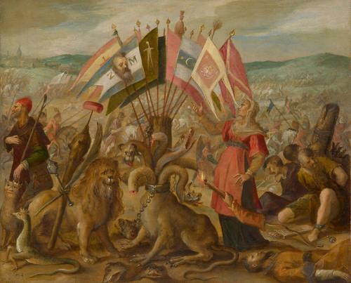 Allegorie on the battle of BraÅŸov, 1604