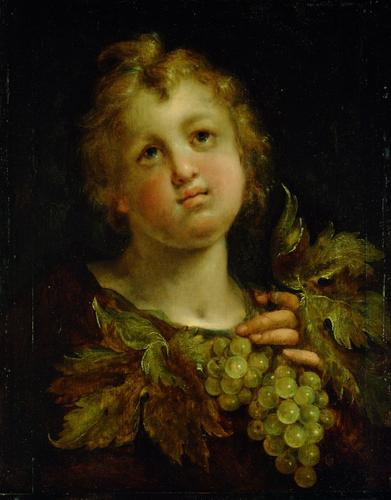 Boy with grapes, 1605