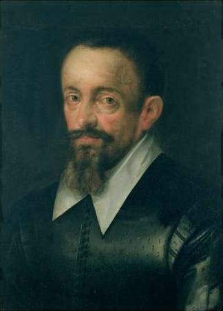 Portrait of a man, possibly Johannes Kepler, 1612