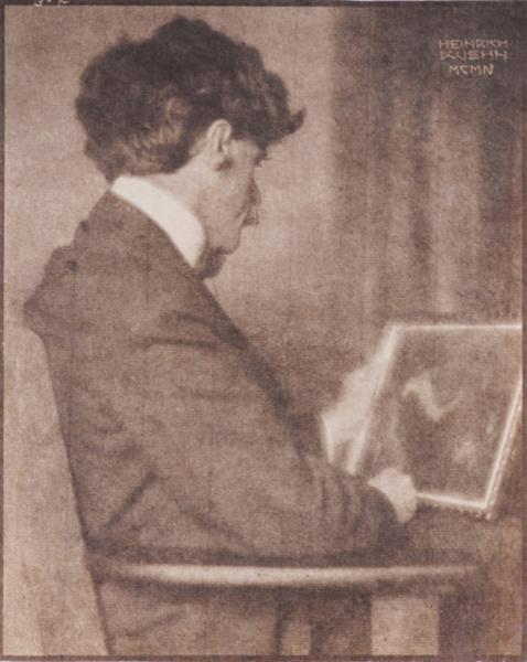 Alfred Stieglitz, 1904 - Heinrich Kuhn