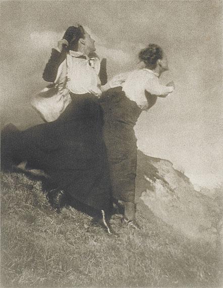 Wanderer, 1915 - Heinrich Kühn