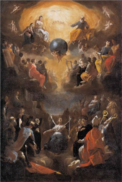 Adoration of the Holy Trinity, 1649 - Heinrich Schonfeld