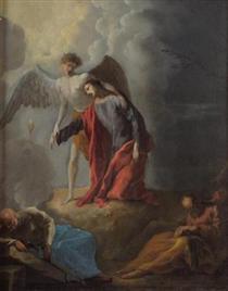 Christus am Ölberg - Johann Heinrich Schönfeld