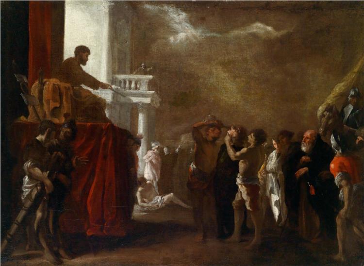 Der heilige Cyriakus, 1645 - Heinrich Schonfeld