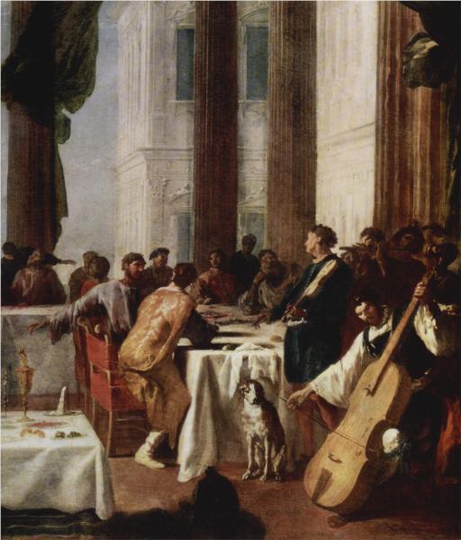 Hochzeit zu Kana - Heinrich Schonfeld