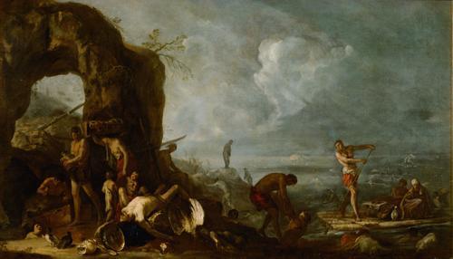 Sintflut, c.1634 - c.1635 - Іоганн Генріх Шонфельд
